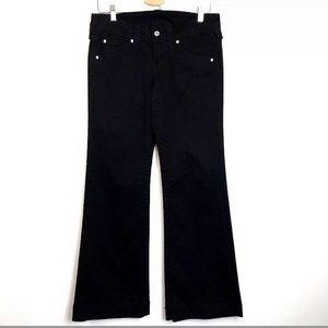True Religion Disco Candice Flare Jeans Black